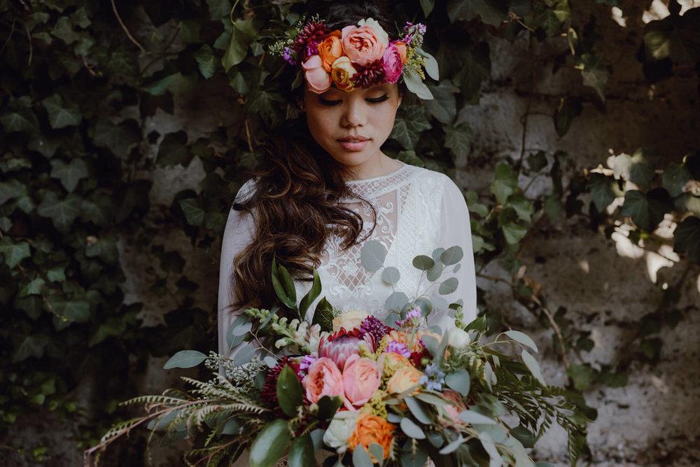 Amanda Connors Jen Hagglof creative floral design sandrock farm