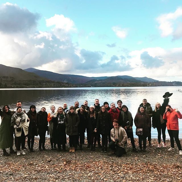 We've had a brilliant few days away at our Autumn social.  There's been pizza, a Halloween party, hikes and hangouts.  We're just about to finish this year's SNAP's Got Talent, where 7 of our SNAPsters are pitching talks for SNAP 2019.  It's been a brilliant few days and we're sad to be heading home. #snapphotofest