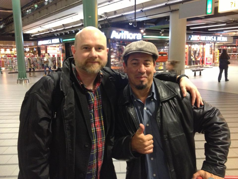 Coelho and ew in Amsterdam