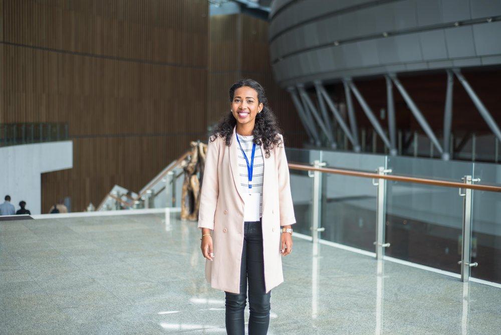Wongel Abebe, 22 - Editor-In-Chief