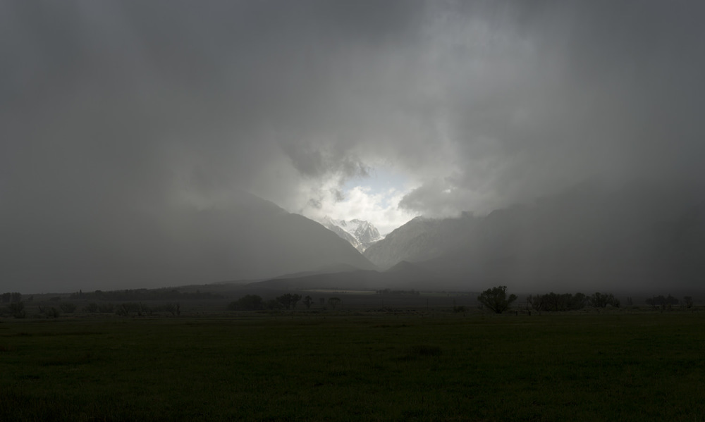 Light, Mountains, Storm. 2015