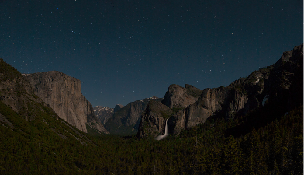 A Clear Midnight, Yosemite NP. 2010