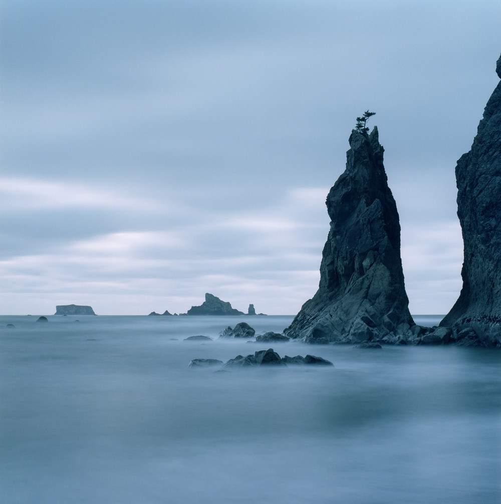 Rialto Beach after Sunset, Olympic NP. 2005