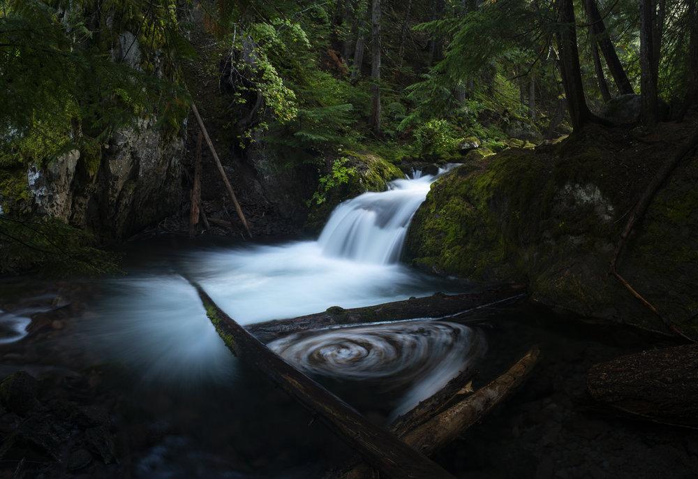 Cold Spring Creek, Mt Hood.