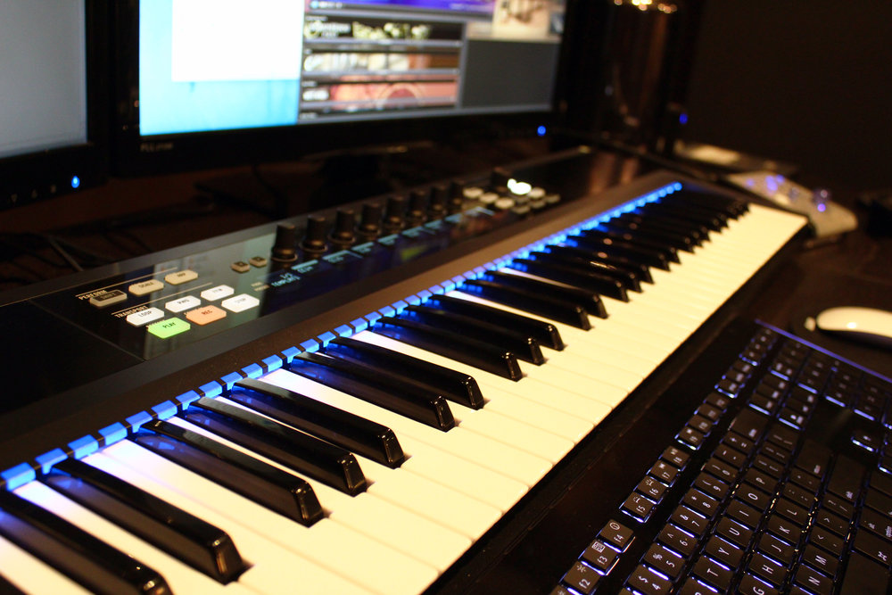Komplete Kontrol S61, from Native Instruments.