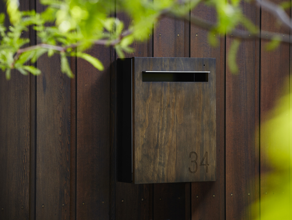 Dark Shade Wall Mounted Mailbox