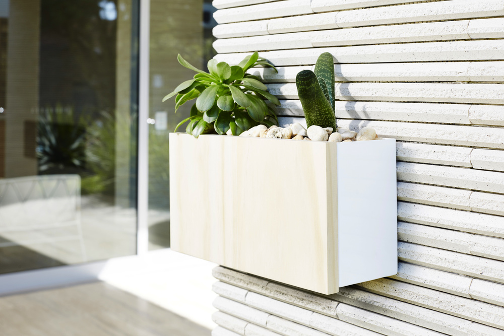 Single Wall Planter Box