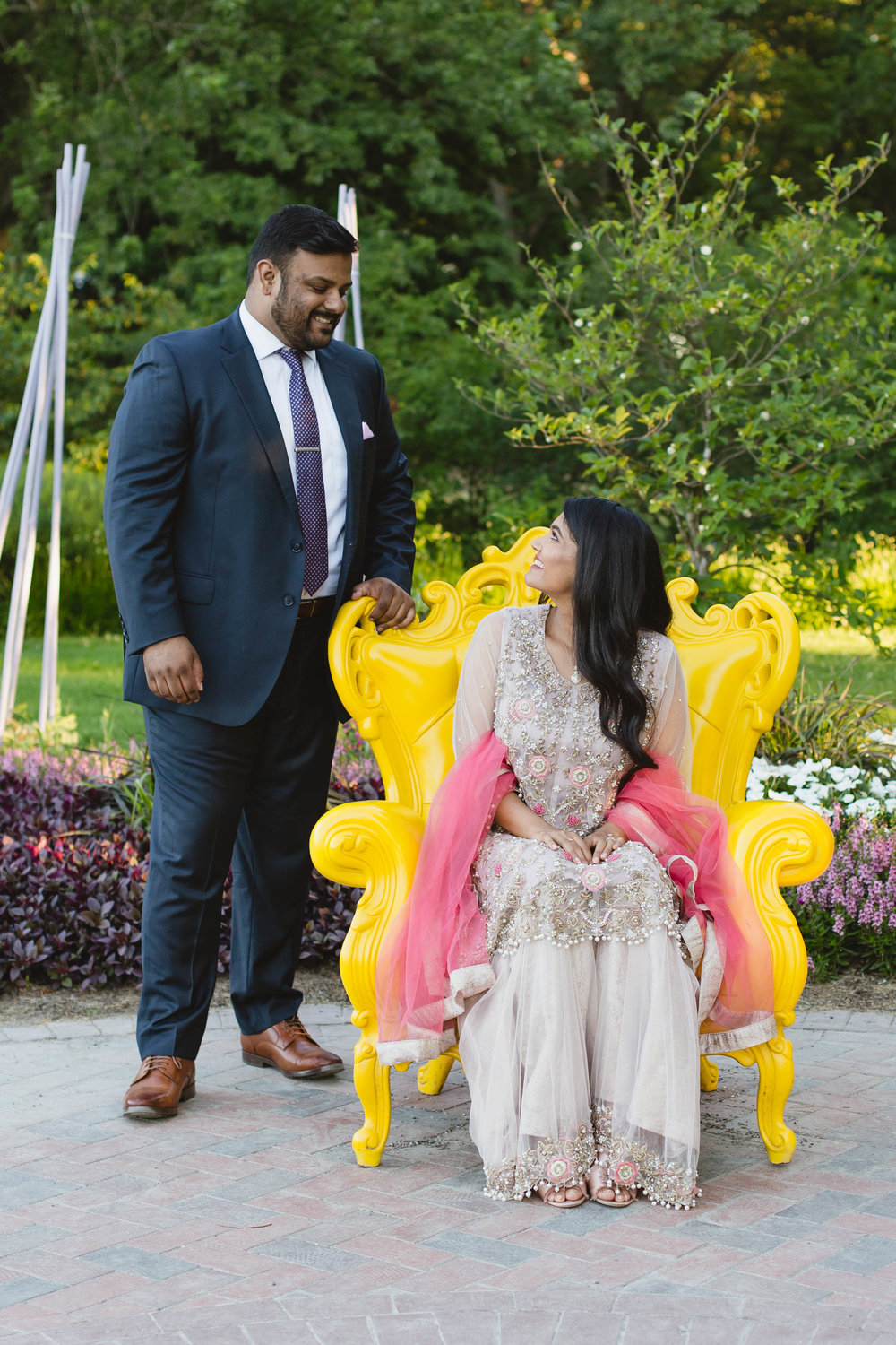 Cantigny Park Wheaton Engagement Photo Session