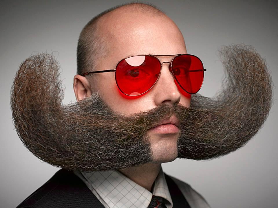 Minneapolis' own MJ, founder of the Minneapolis Beard & Moustache Club
