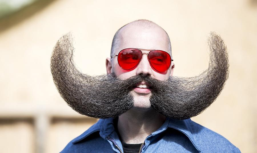 MJ Johnson, @razorhater, will judge the Moustache Run's Moustache Contest for the 3rd consecutive year