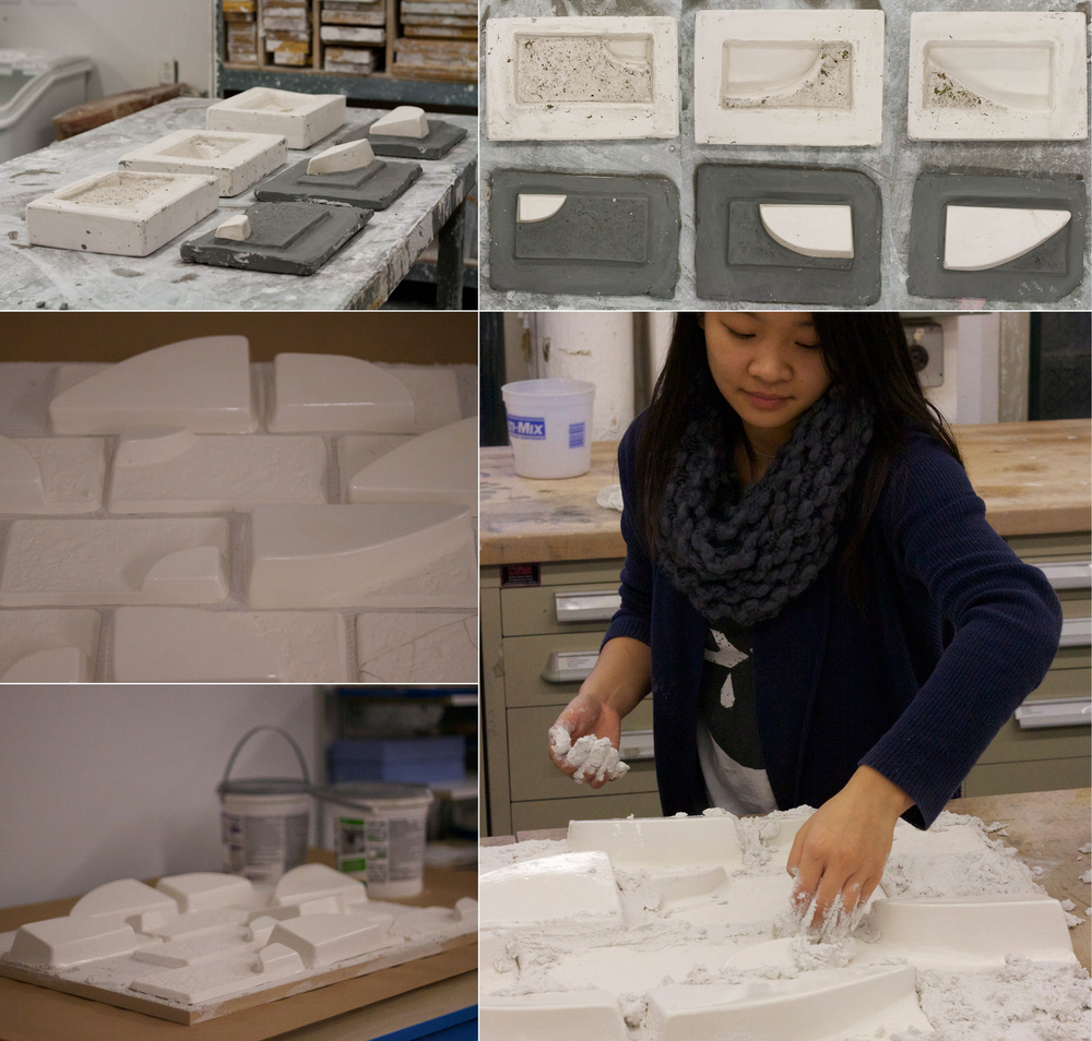 Process of making Pure ceramic tiles.