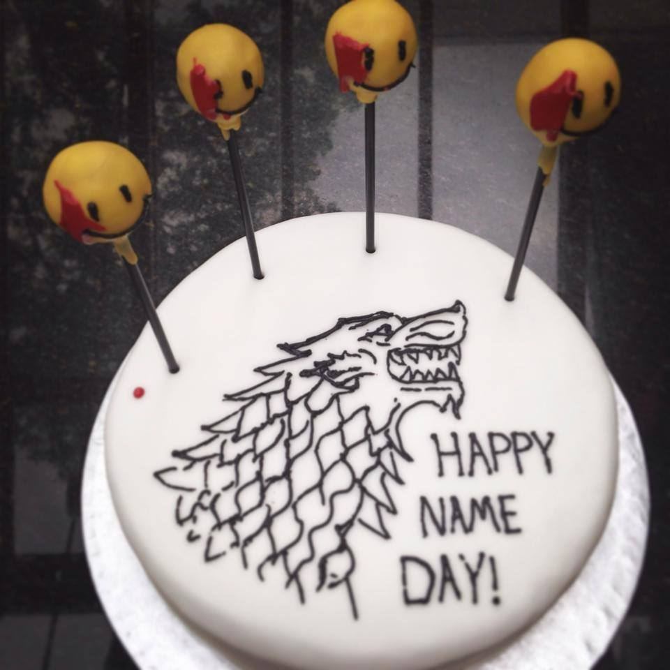 """Game of Watchmen"" cake"