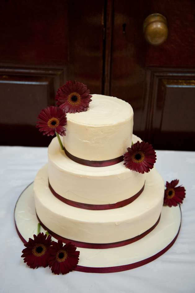 Red Velvet Wedding Cake.