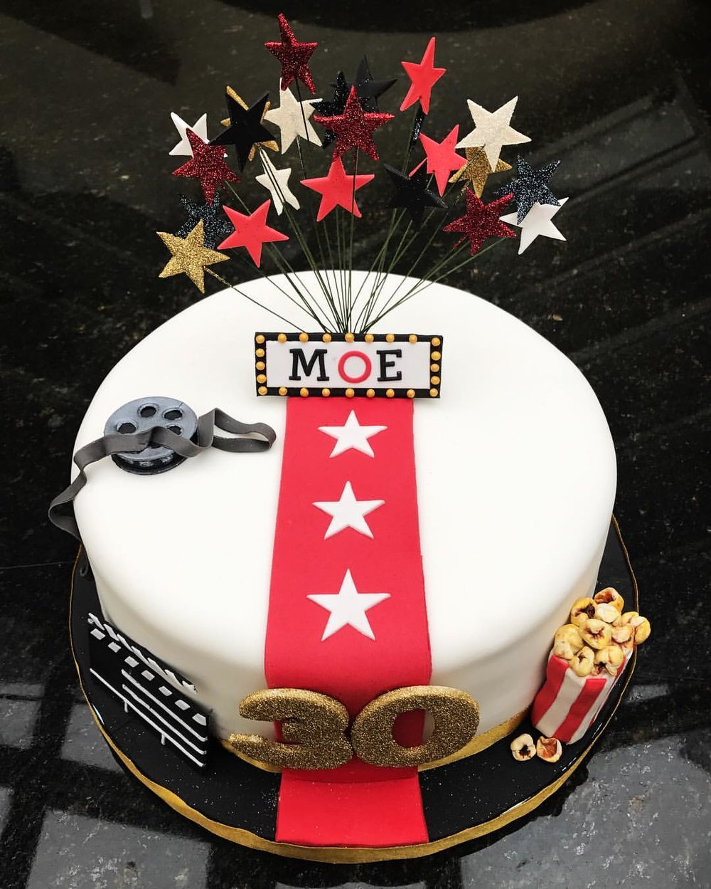 Hollywood/Movie Themed Cake
