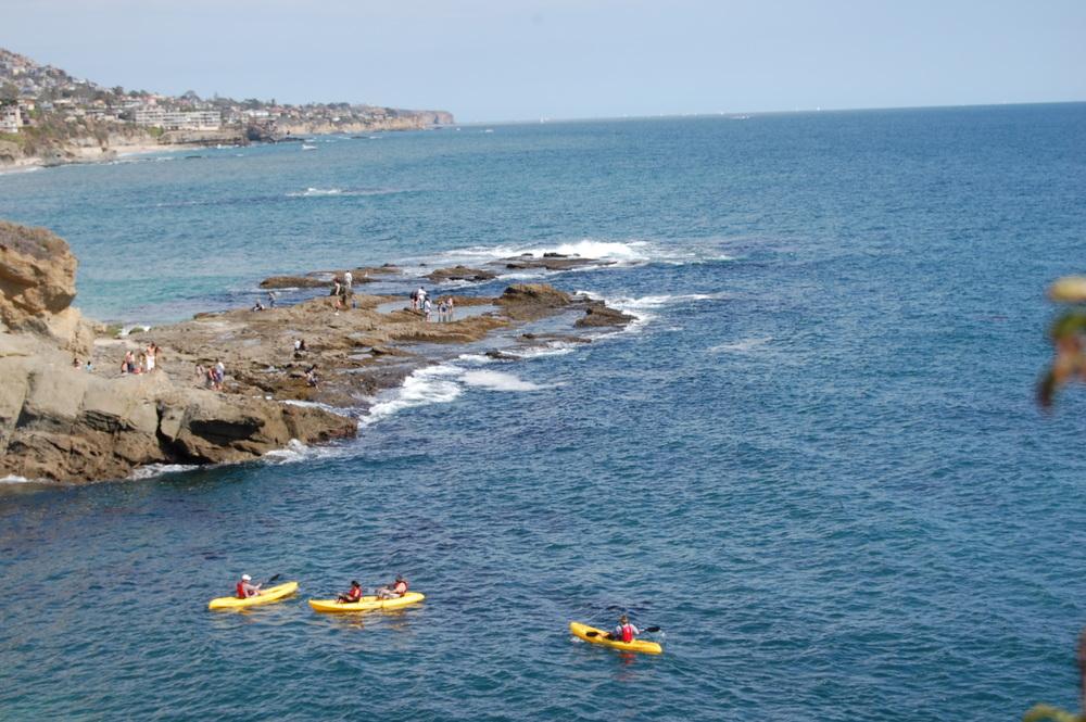 Kayaking Adventure Laguna Beach
