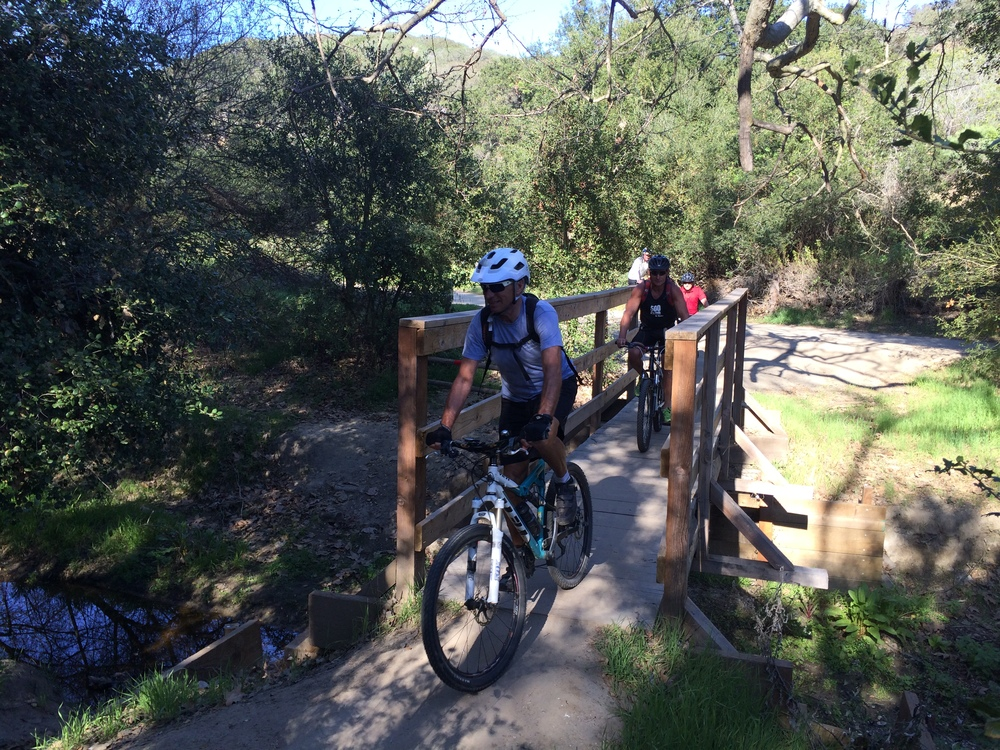 Mountain Bike Aliso & Wood Creeks Park
