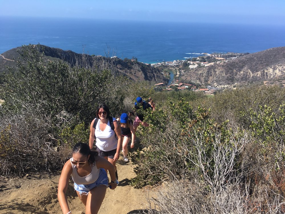 hiking laguna beach