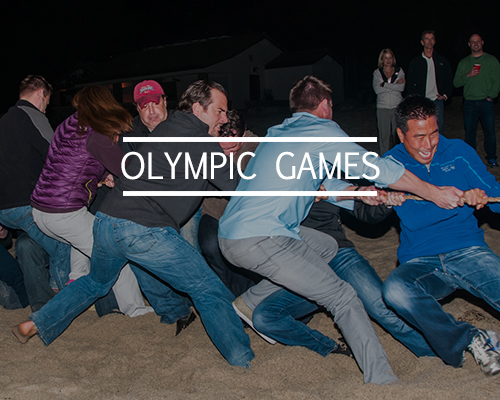 olympic games team building