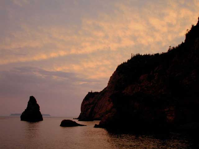 Photo: Cape Chignecto, NS, Jennifer Publicover