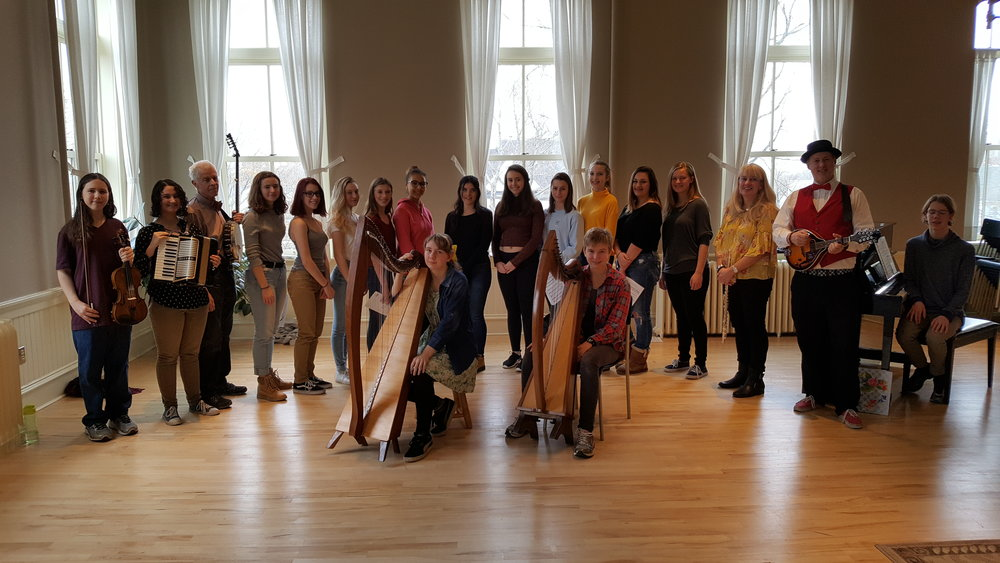 "The Traditional Music Ensemble collaborated with the MCPA Vivid Vocal Ensemble in Nov. 2017 to make a CBC Music Class Challenge video cover of Joni Mitchell's classic song ""Both Sides Now"".  Here is the   video link   ."