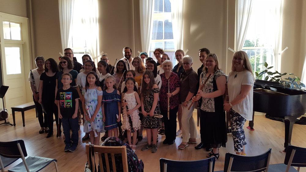 Woodwind Department recital, June 1, 2018