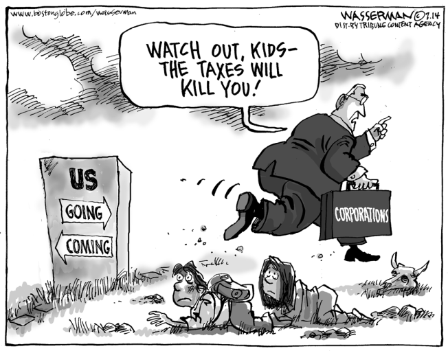 Corporate Tax Inversions
