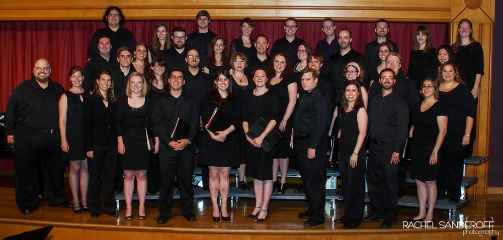 "Six Degree Singers before our Winter 2014 concert ""La Dolce Vita,"" at Marymount University."
