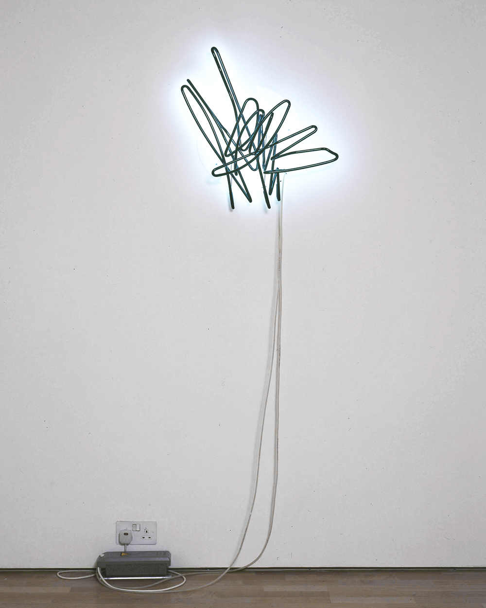 stefan bruggemann  obliterated neon  neon  variable dimensions  2012