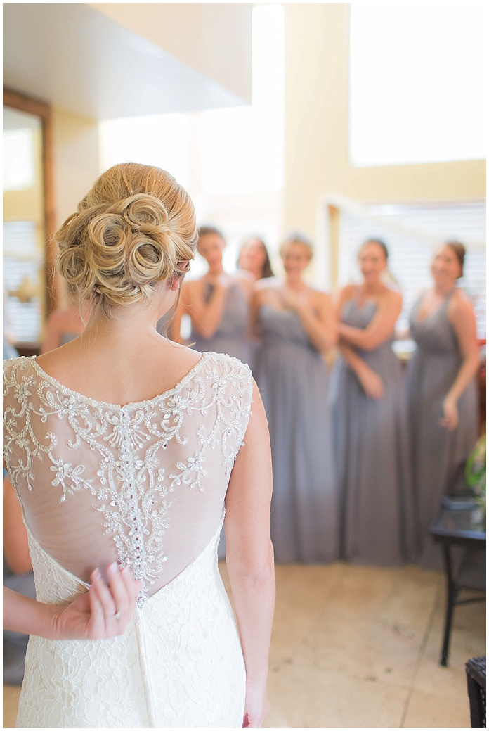Paradise Cove Wedding  |  Orlando Florida  |  Winter Wedding |  Grey and Blush