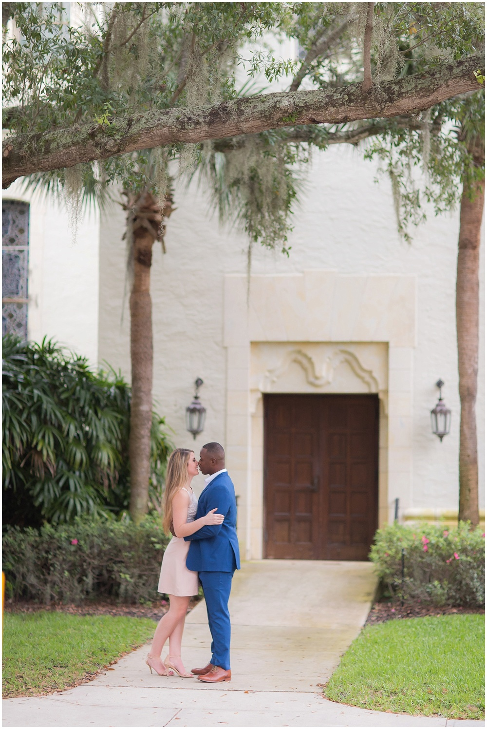 Winter Park Rollins College Engagement