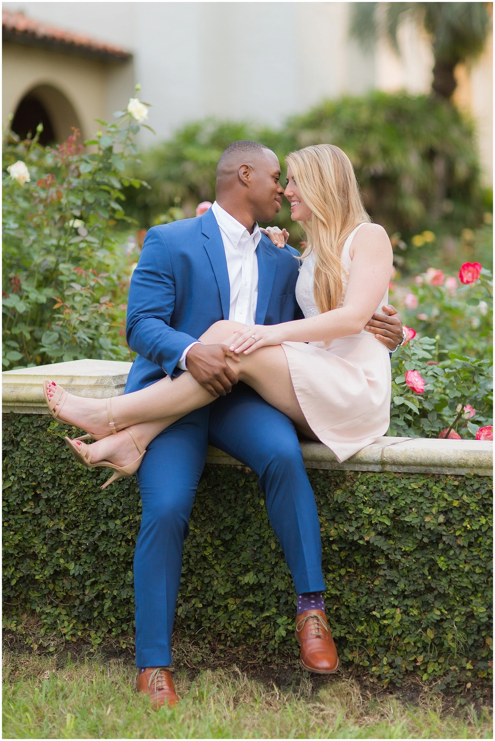 Winter Park  |  Rollins College  |  Engagement Session |  PSJ Photography