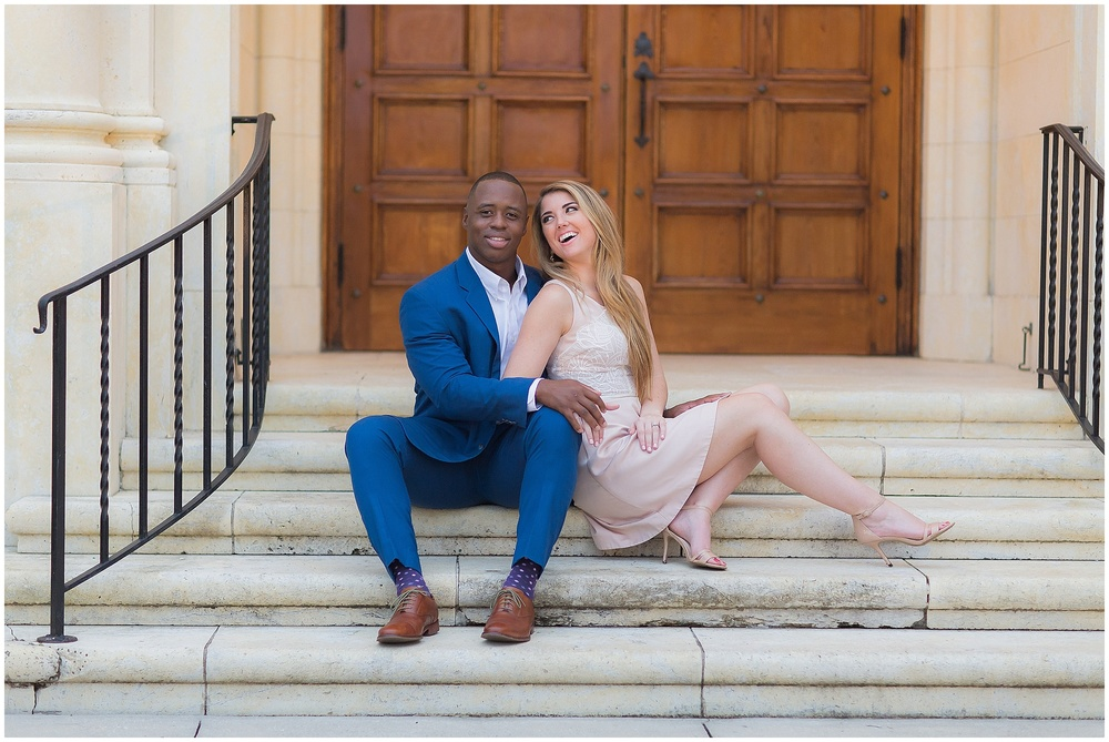 Rollins College Winter Park Engagement Session