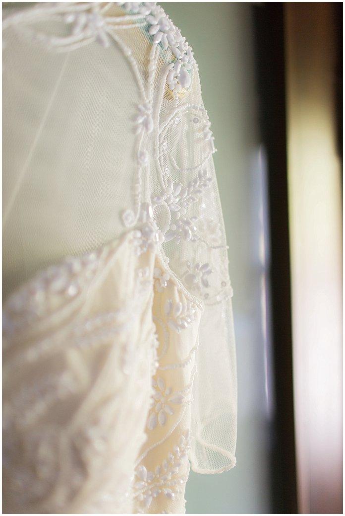 Jenny Packham wedding gown on BHLDN Mrs Hanger