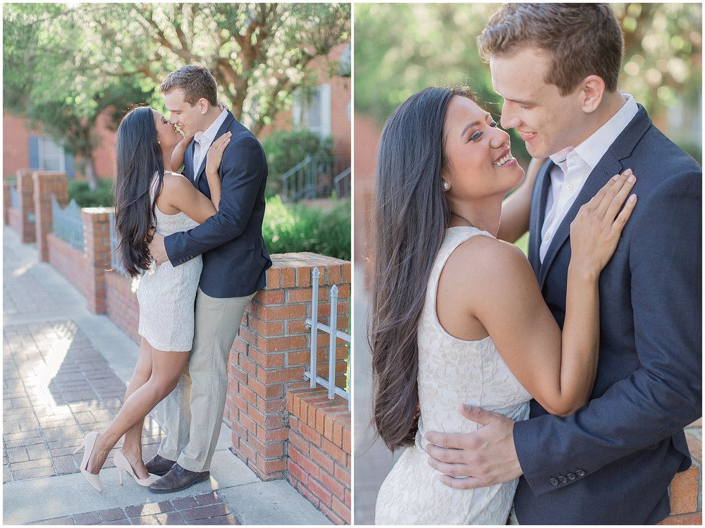 Downtown DeLand Engagement Session