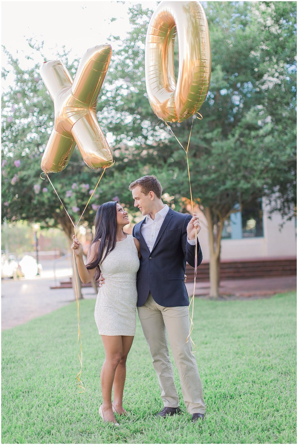 XO Balloon Engagement Session