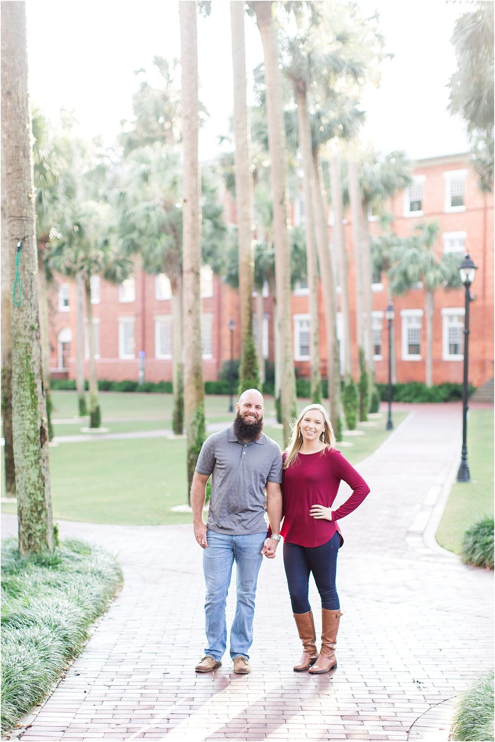 Stetson Florida Engagement Session Tampa St Augustine DeLand17.jpg