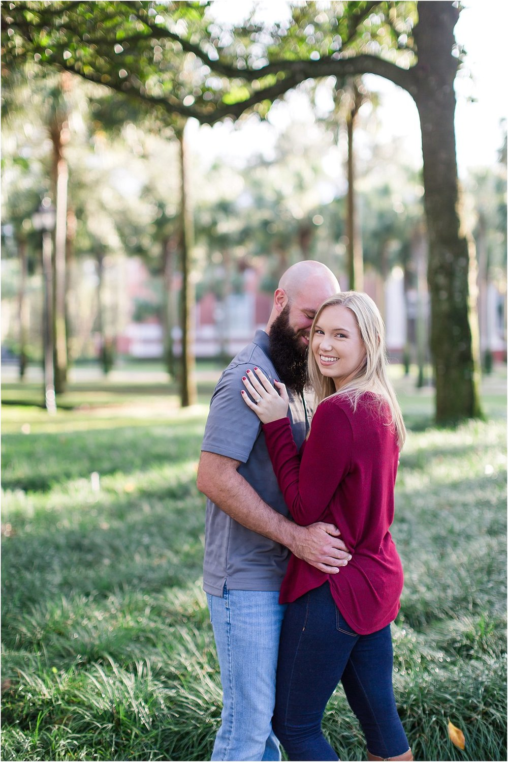 Stetson Florida Engagement Session Tampa St Augustine DeLand19.jpg