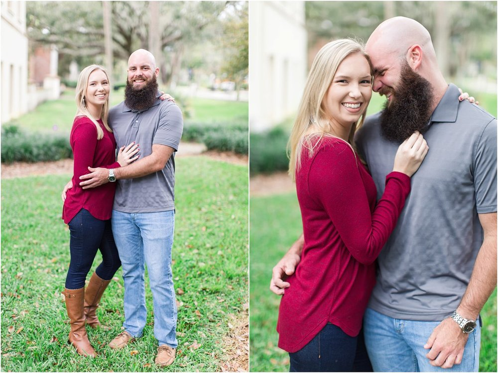 Stetson Florida Engagement Session Tampa St Augustine DeLand24.jpg