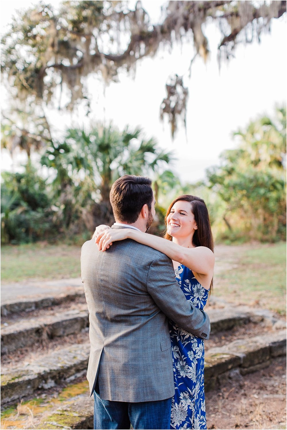 Tomoka Park Ormond Beach Florida Engagement Session Orlando Wedding Photographer PSJ Photography14.jpg