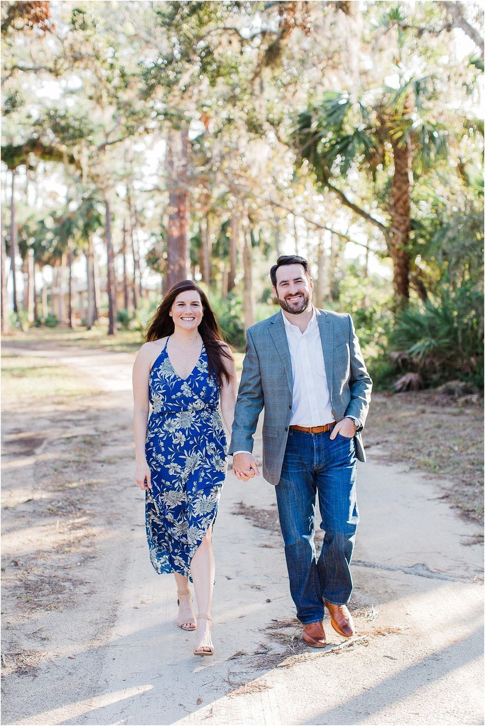 Tomoka Park Ormond Beach Florida Engagement Session Orlando Wedding Photographer PSJ Photography19.jpg