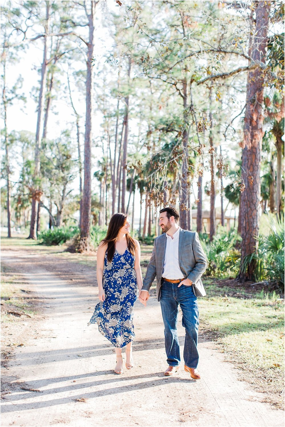 Tomoka Park Ormond Beach Florida Engagement Session Orlando Wedding Photographer PSJ Photography22.jpg