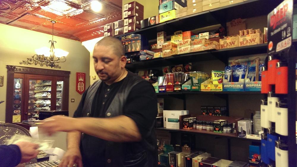 Shopkeep Carlos