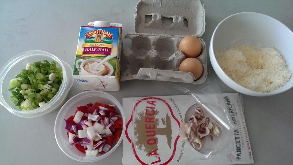 pancetta eggs