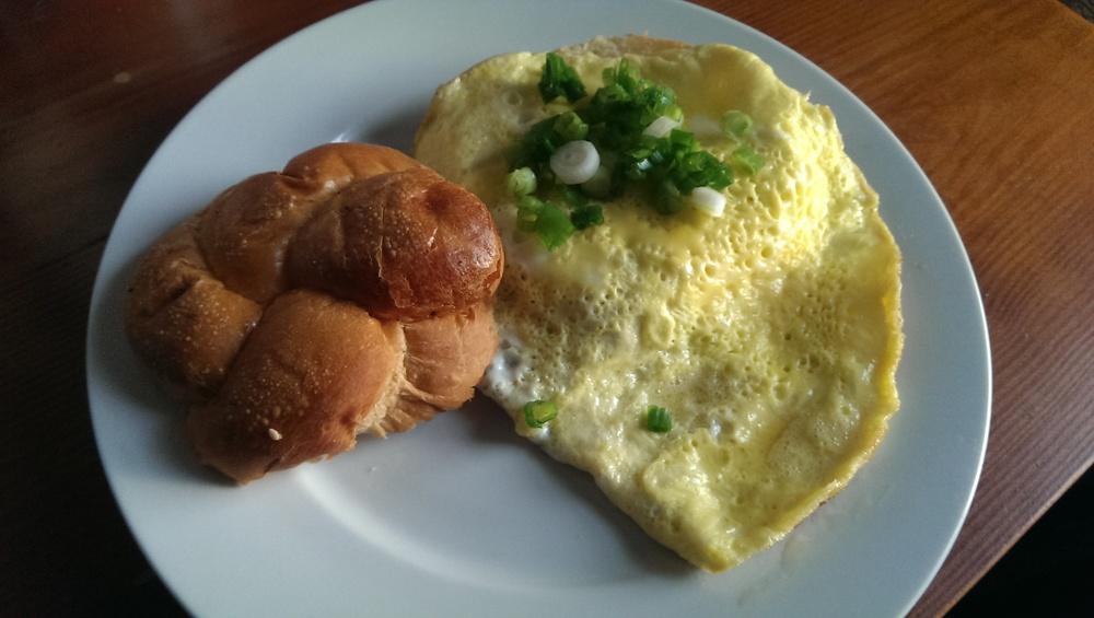 plain omlette
