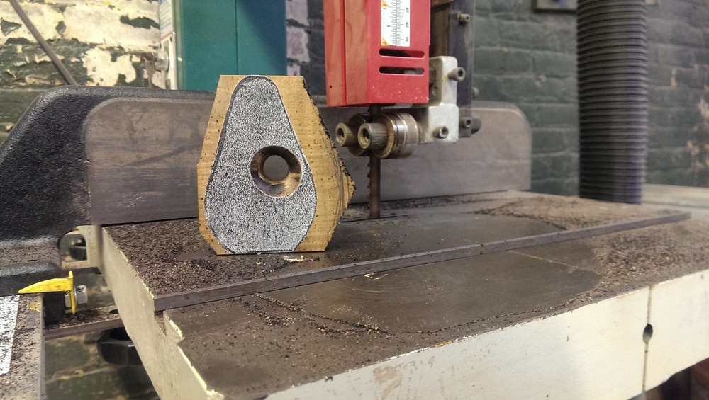 band saw after