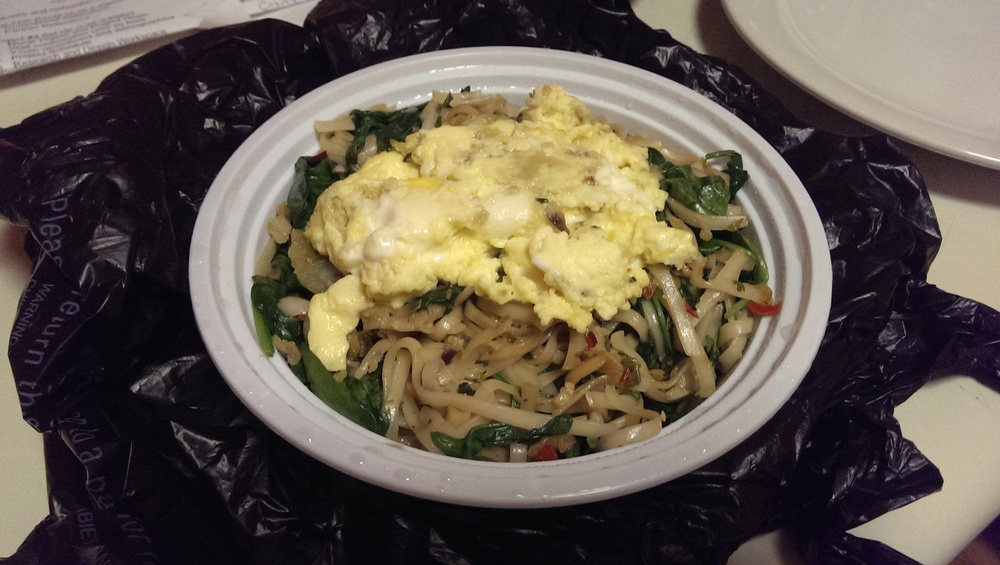 udon stir fry with egg