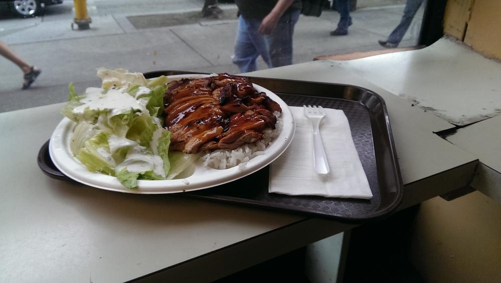 13 - Osaka Teriyaki plate