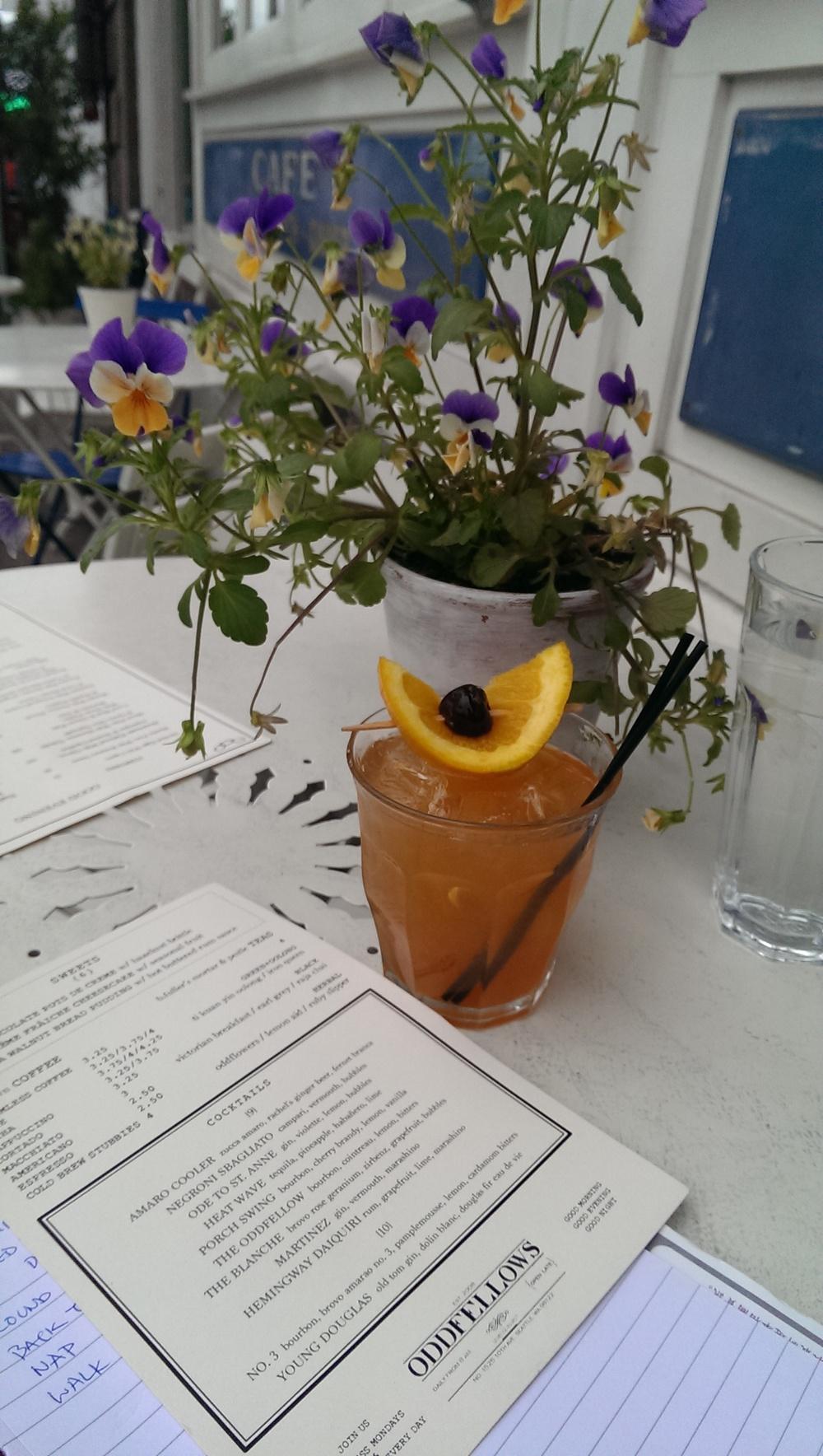 16 - Oddfellow Restaurant house cocktail