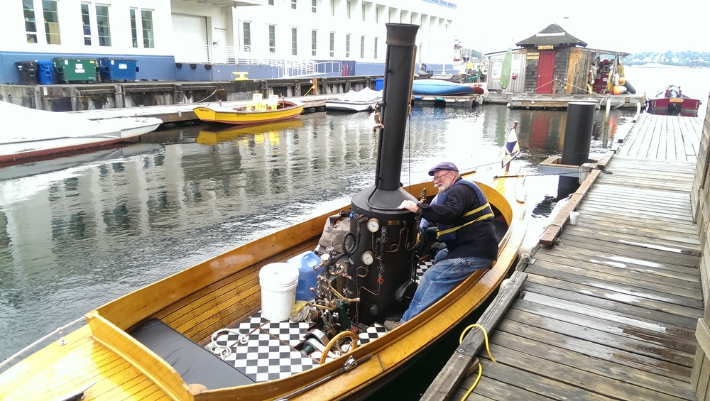 20 - Steam Boat at Center for Wooden Boats