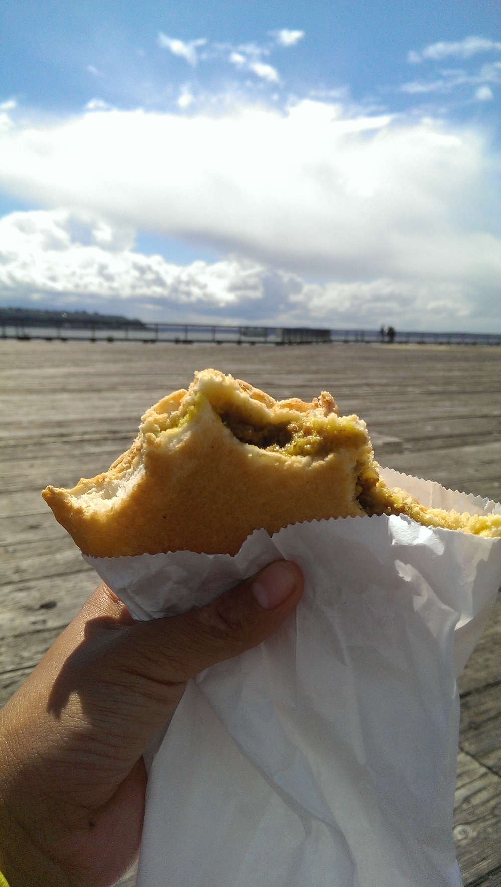 36 - Public Market curry bun on Pier 62/63